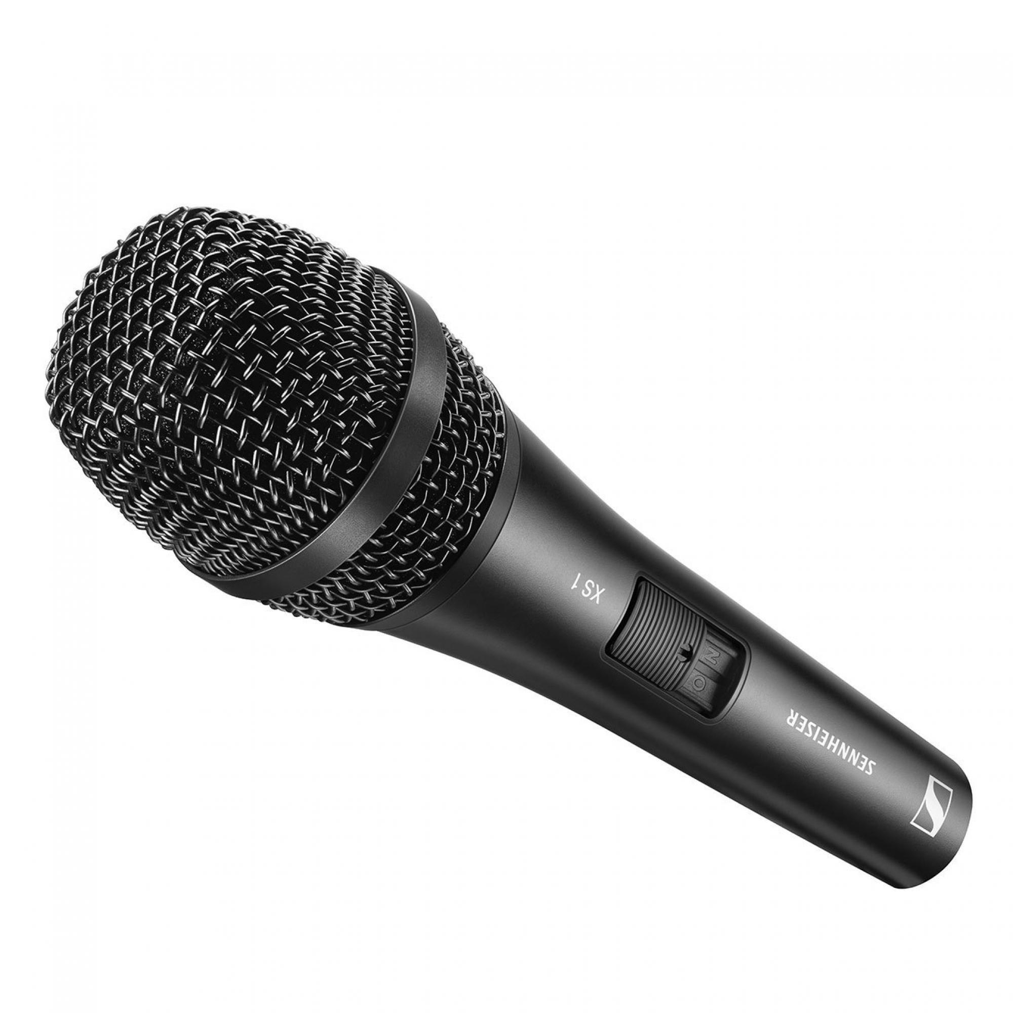 Microfone com fio Sennheiser XS1 Cardioide