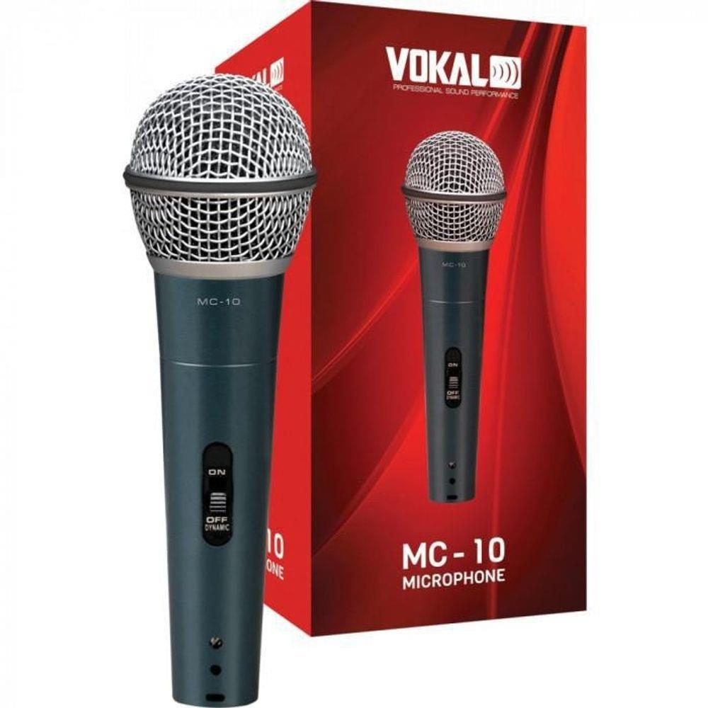 Microfone com Fio Vokal MC10