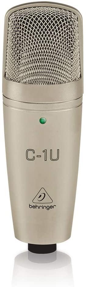 Microfone Condensador Behringer C-1U Studio USB