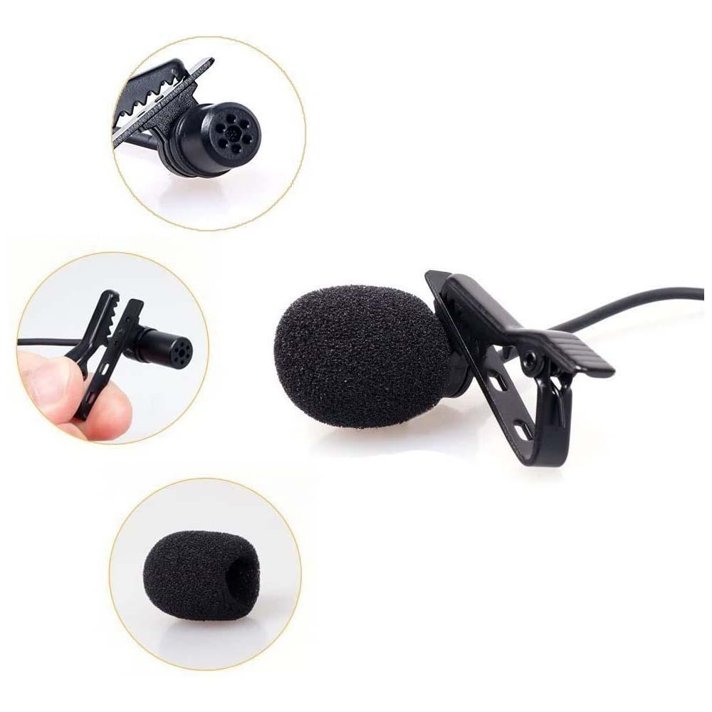 Microfone de Lapela Comica V01SP para Smartphones cabo com 4,5 metros