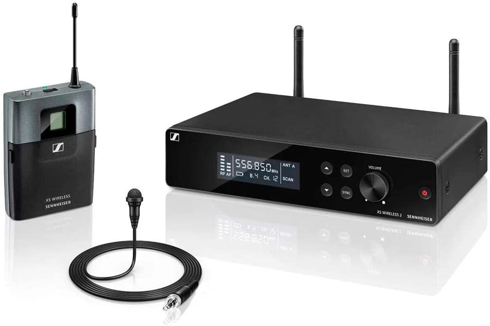 Microfone Lapela sem Fio Sennheiser XSW2-ME2-A