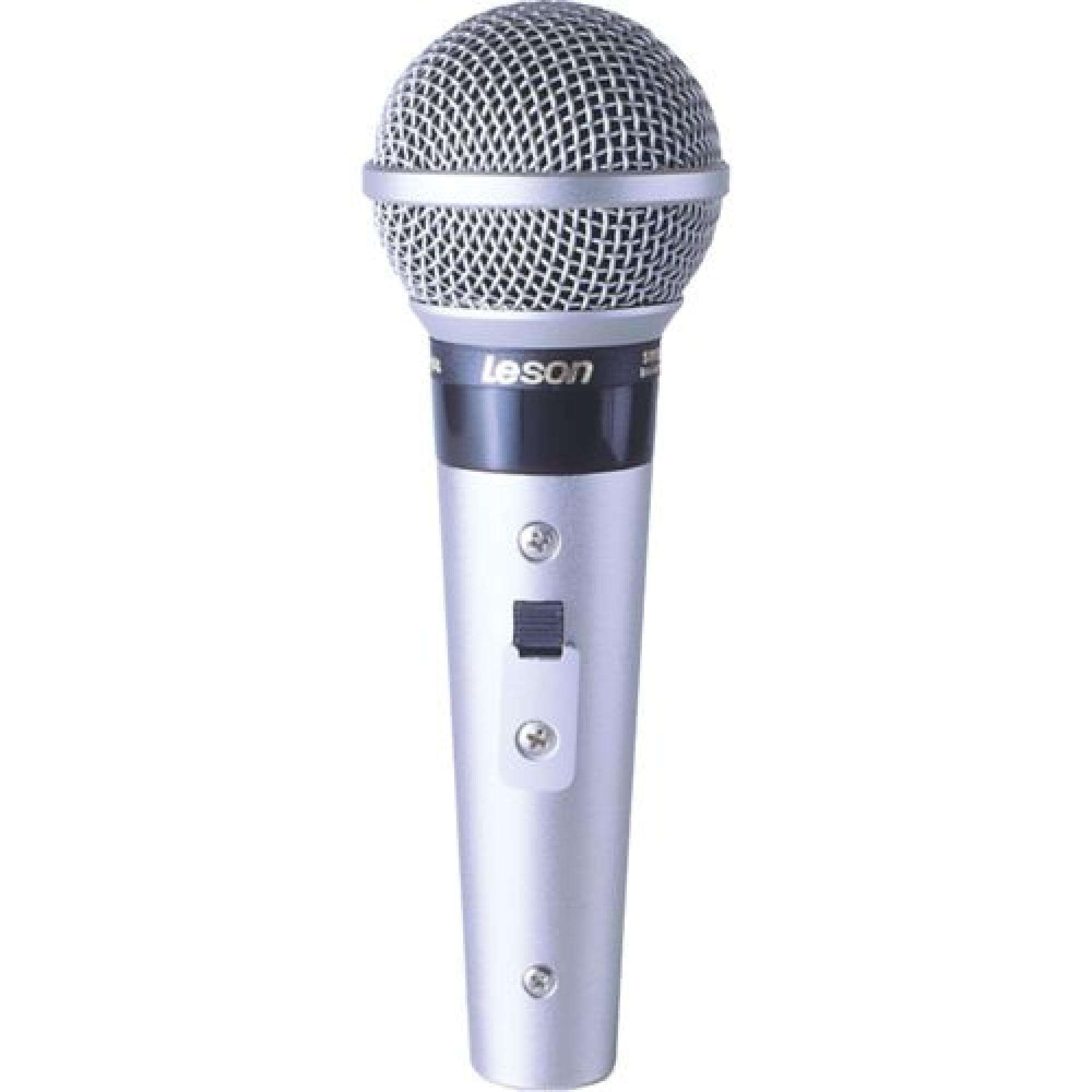 Microfone Profissional Com Fio Cardioide SM58 P4 LESON