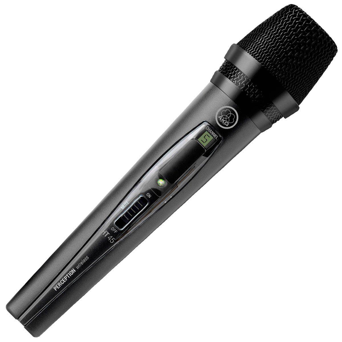 Microfone sem Fio AKG PW HT45 Mão UHF SR45