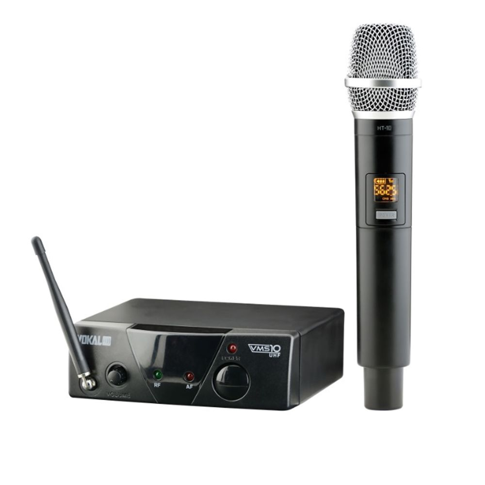 Microfone sem Fio de Mão Vokal VMS10