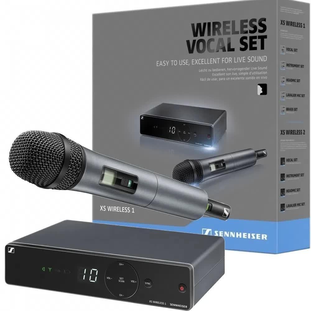 Microfone sem fio Sennheiser XSW1-825-A