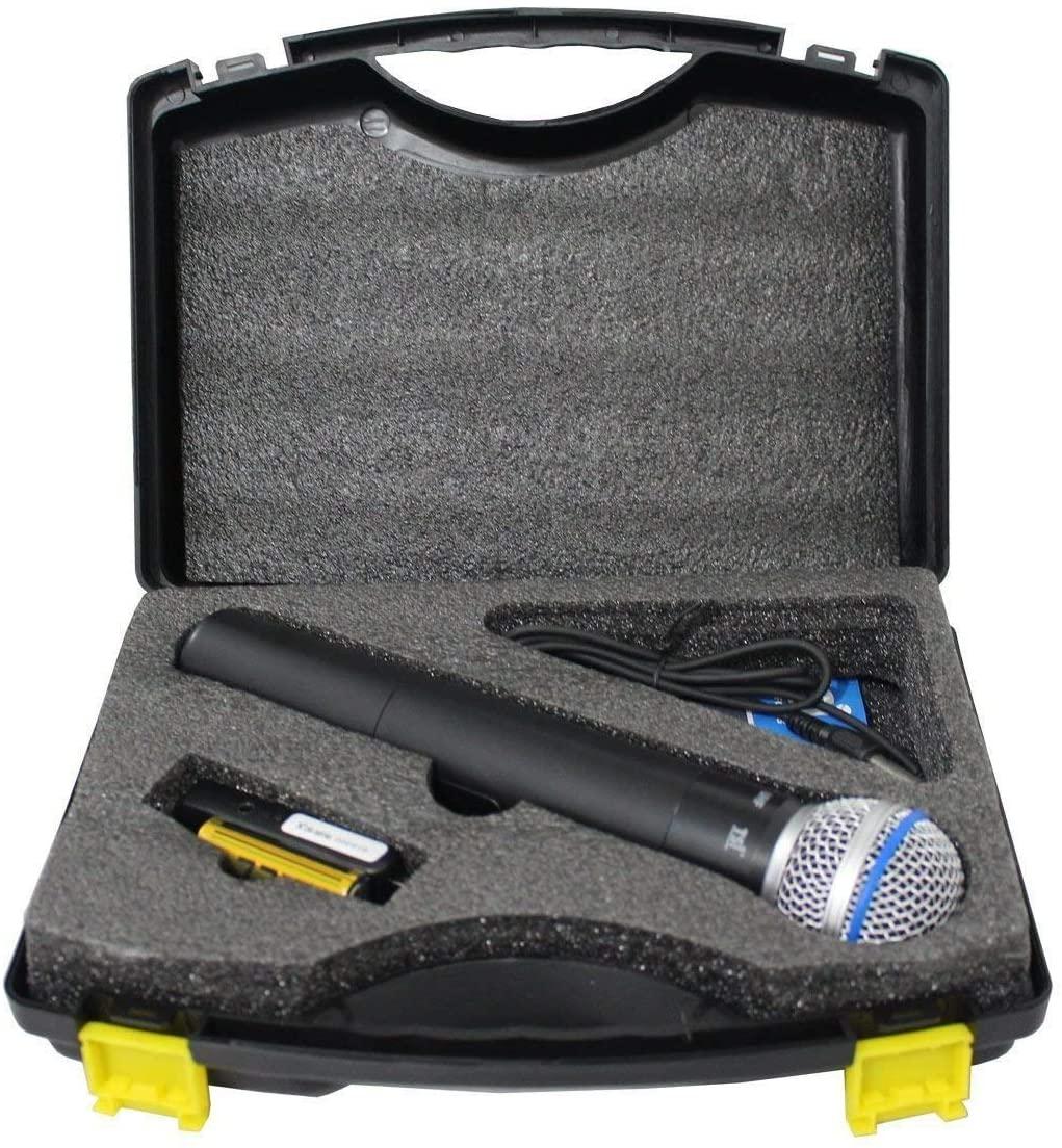 Microfone sem Fio TSI X1 UHF com 100 canais USB