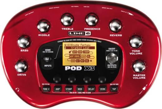 Pedal de Guitarra LINE 6 PODX3 Multi Efeitos