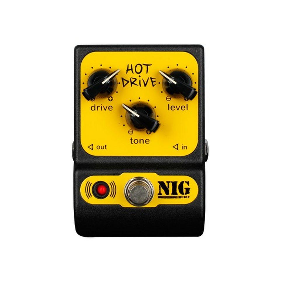 Pedal NIG Drive Hot PHD para Guitarra