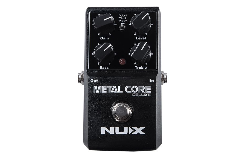 Pedal Nux Metal Core Deluxe Distortion para Guitarra