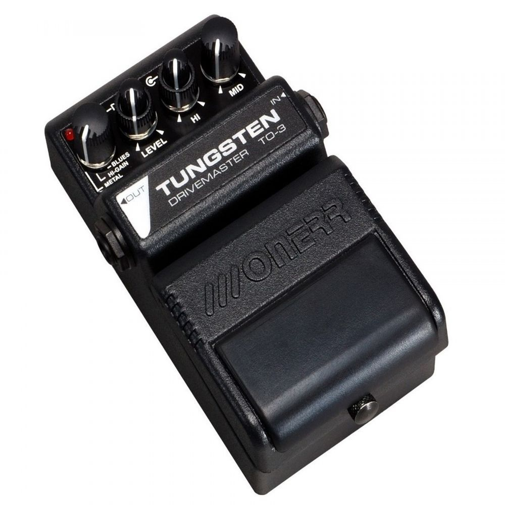 Pedal Onerr Tungsten Drivemaster TO-3 para Guitarra