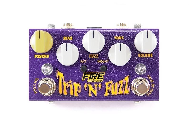 Pedal Trip n Fuzz Fire Custom Shop