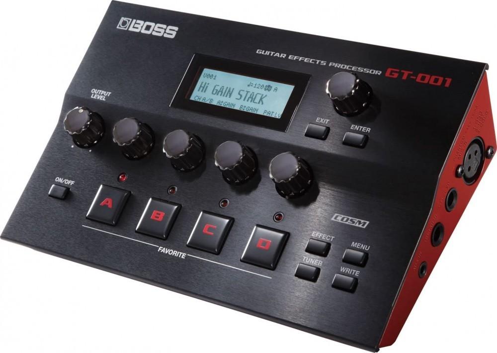 Pedaleira Boss GT-001 Multi Efeitos para Guitarra com Fonte