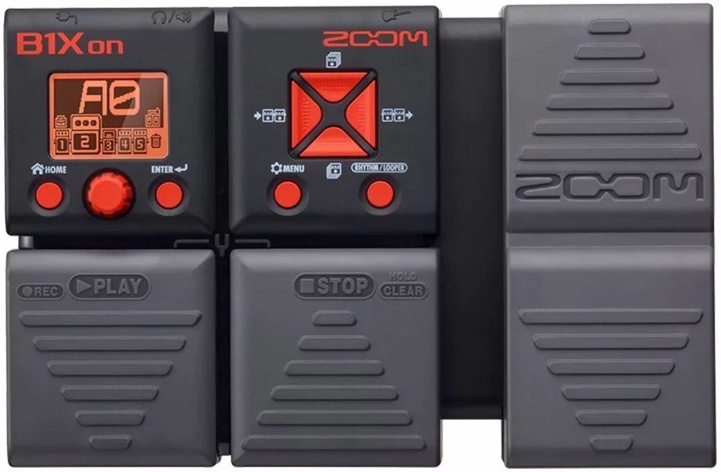 Pedaleira Zoom Multi-efeitos P/ Baixo B1x On B1xon