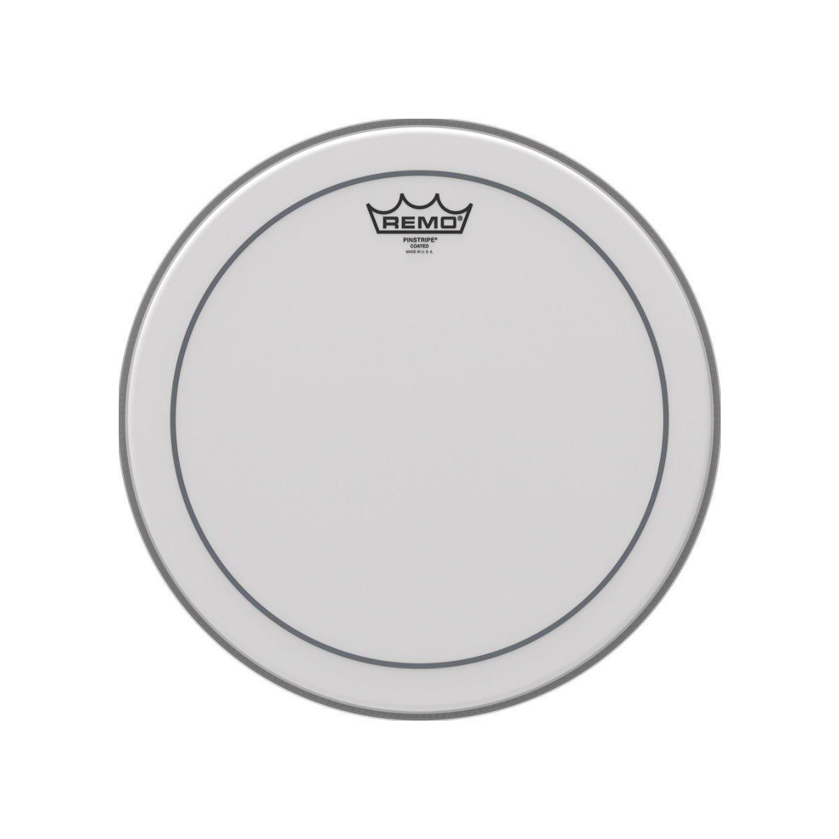 """Pele de Bateria Remo 14"""" Pinstripe Porosa PS-0114-00 para Caixa"""