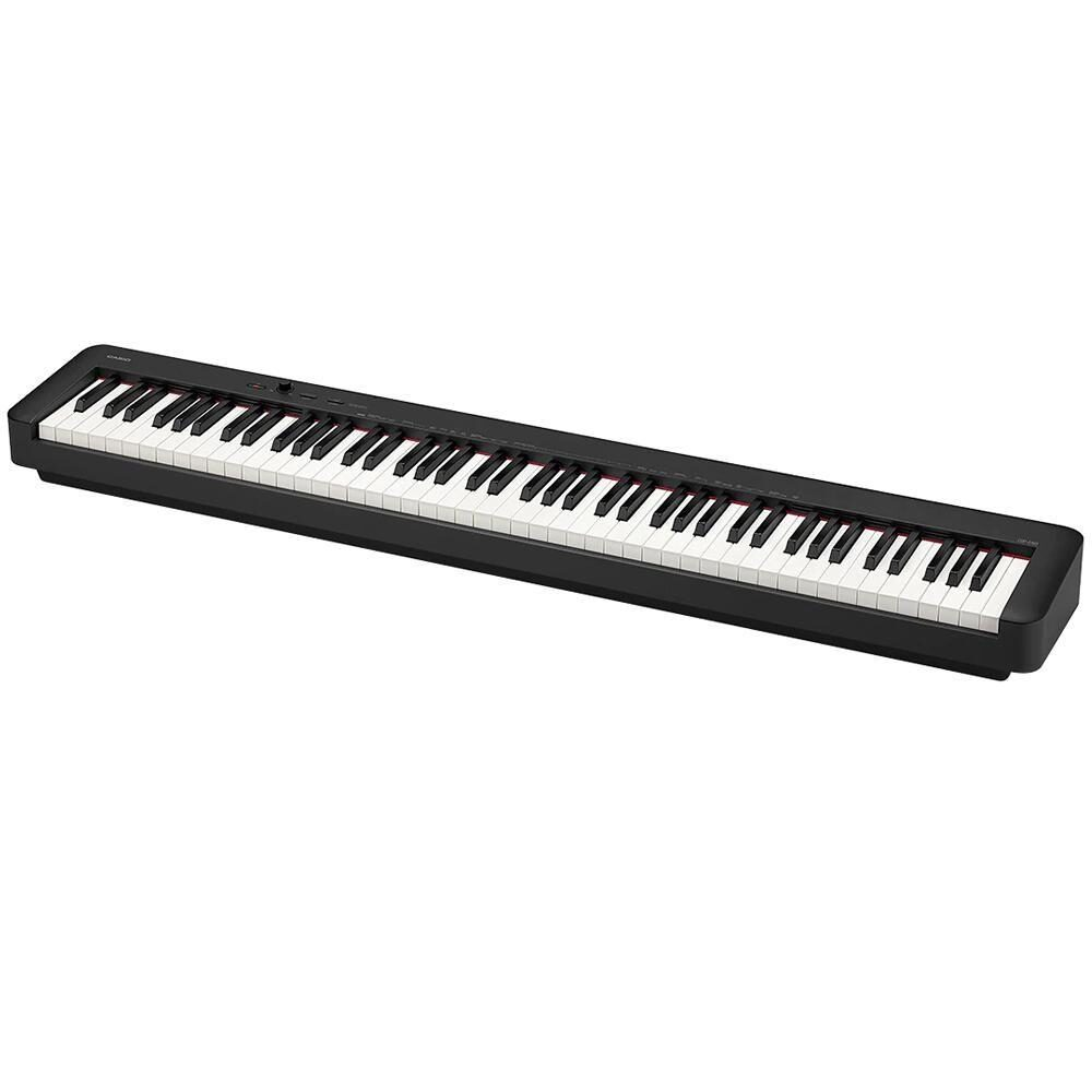 Piano Digital Casio Stage CDP-S150 BK 88 Teclas sensitivas com Pedal Sustain e Fonte
