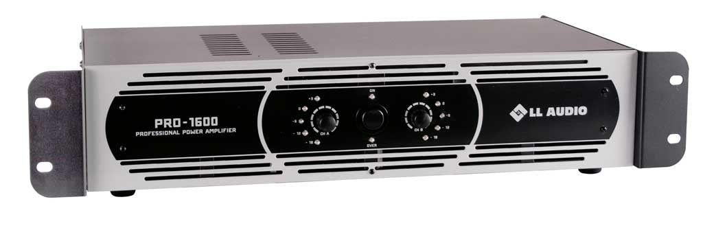 Amplificador De Potência 400W PRO-1600 - LL Áudio