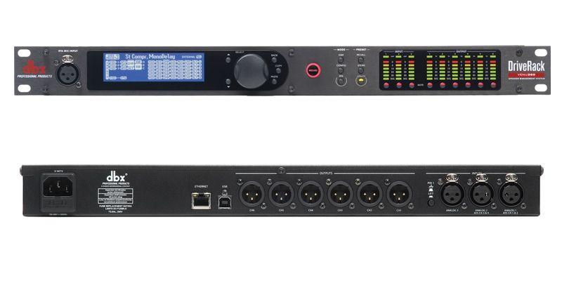 Processador Audio DBX DriveRack VENU 360 BIVOLT