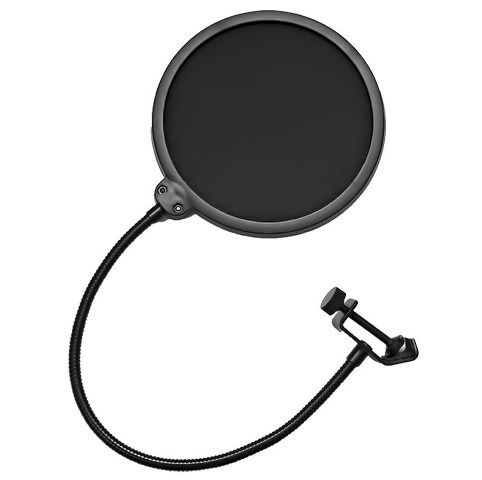 "Suporte de Mesa Articulado para Microfone + Pop Filter 6"" Smart PS01"