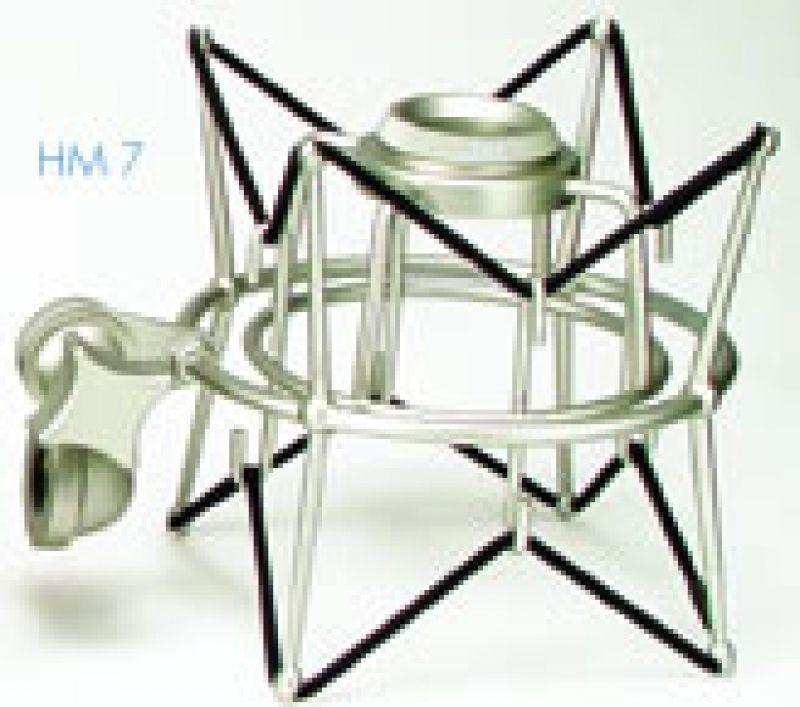 Suporte Microfone com Elastico Anti Shock HM7