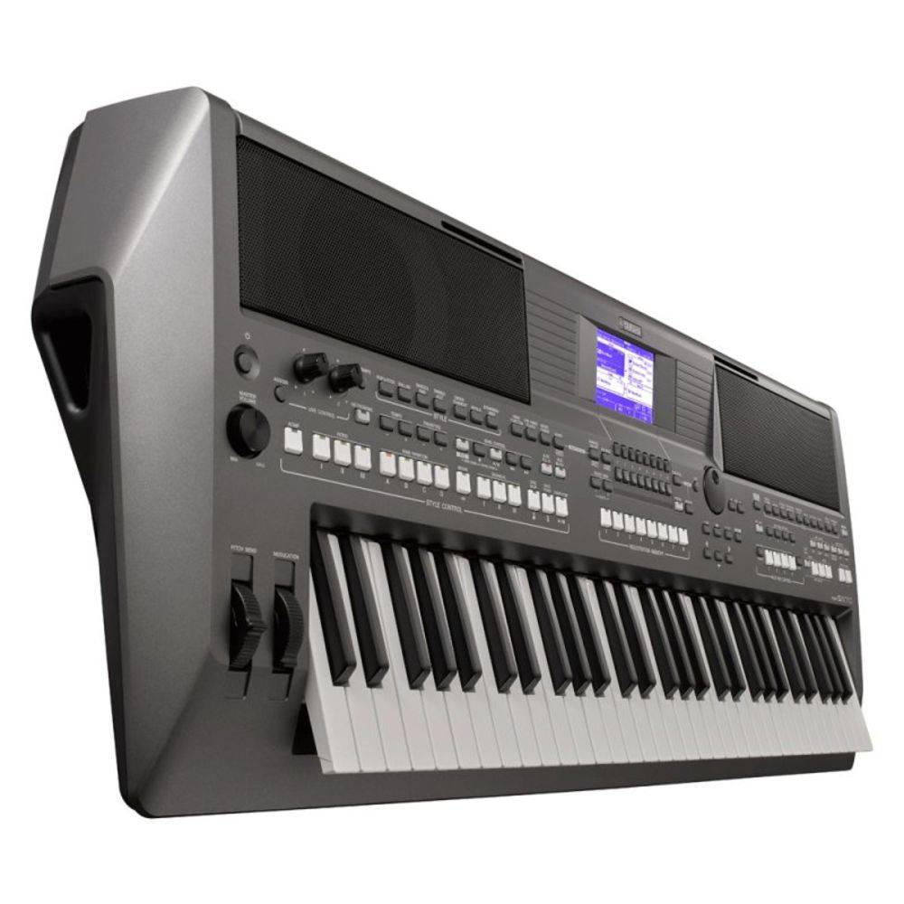 Teclado Arranjador Yamaha PSR S670 Com Fonte