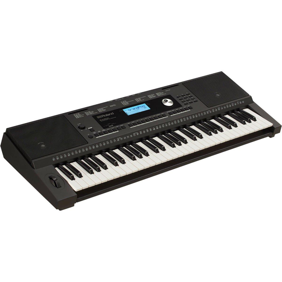 Teclado Roland Digital E-X20A Arranjador 61 Teclas