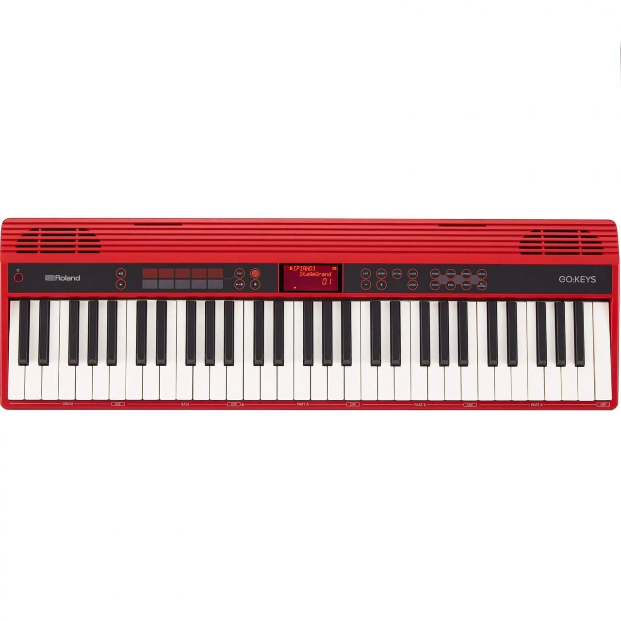 Teclado Roland GO 61K Go Keys Sintetizador com 61 Teclas 500 Sons com Fonte