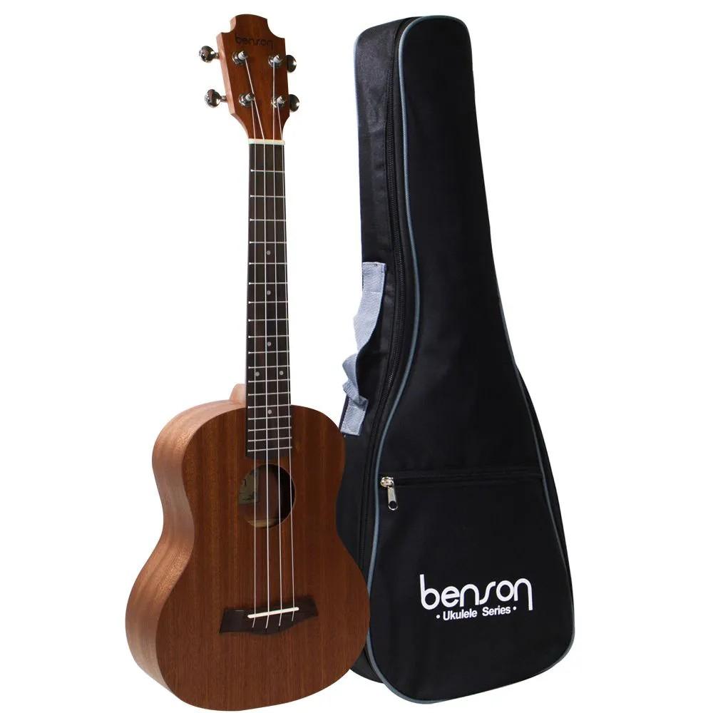 Ukulele Benson Concert UB24b em Sapele Acústico com Capa