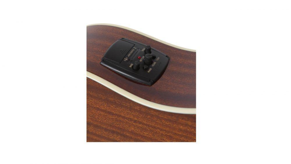 Violão Elétrico Aço Epiphone AJ210 CE Sunburst com Case