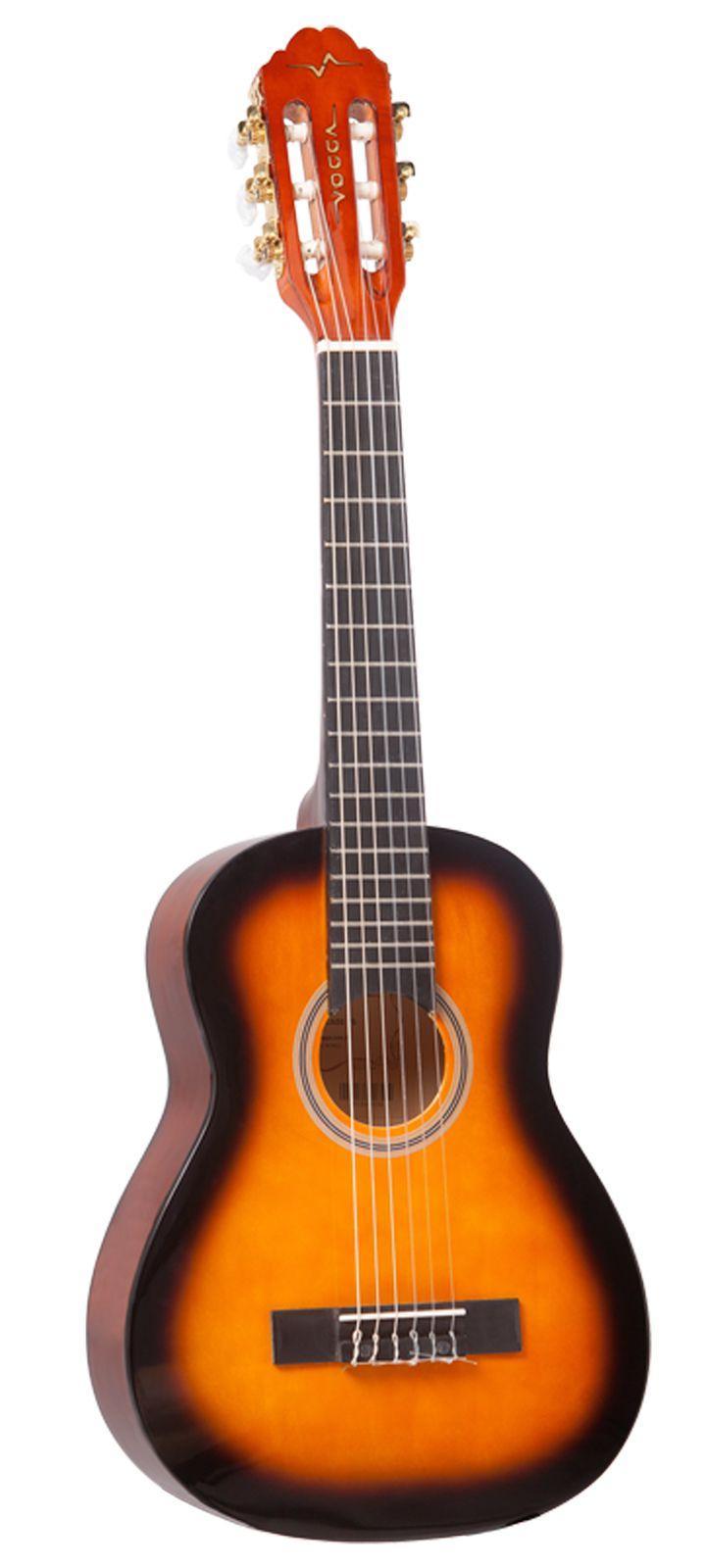 Violão Infantil 1/4 Nylon Vogga VCA86 YS Sunburst
