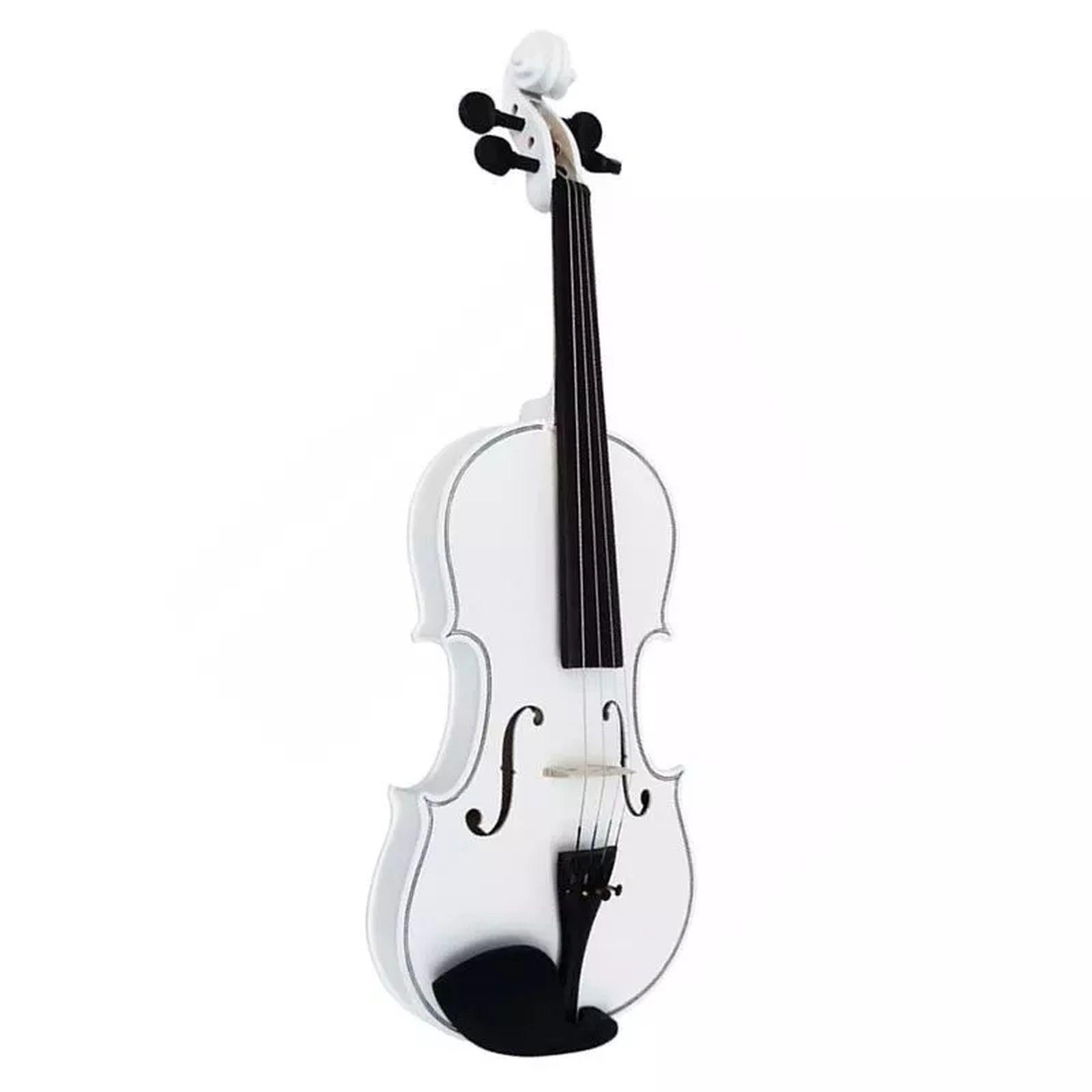 Violino Ronsani Sverve 4/4 com Estojo Branco