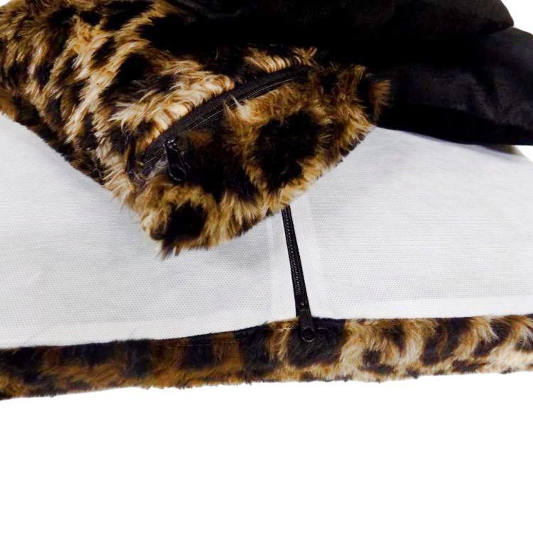 Kit de Capas para Almofadas dos Sofás Tomtom Animal Print