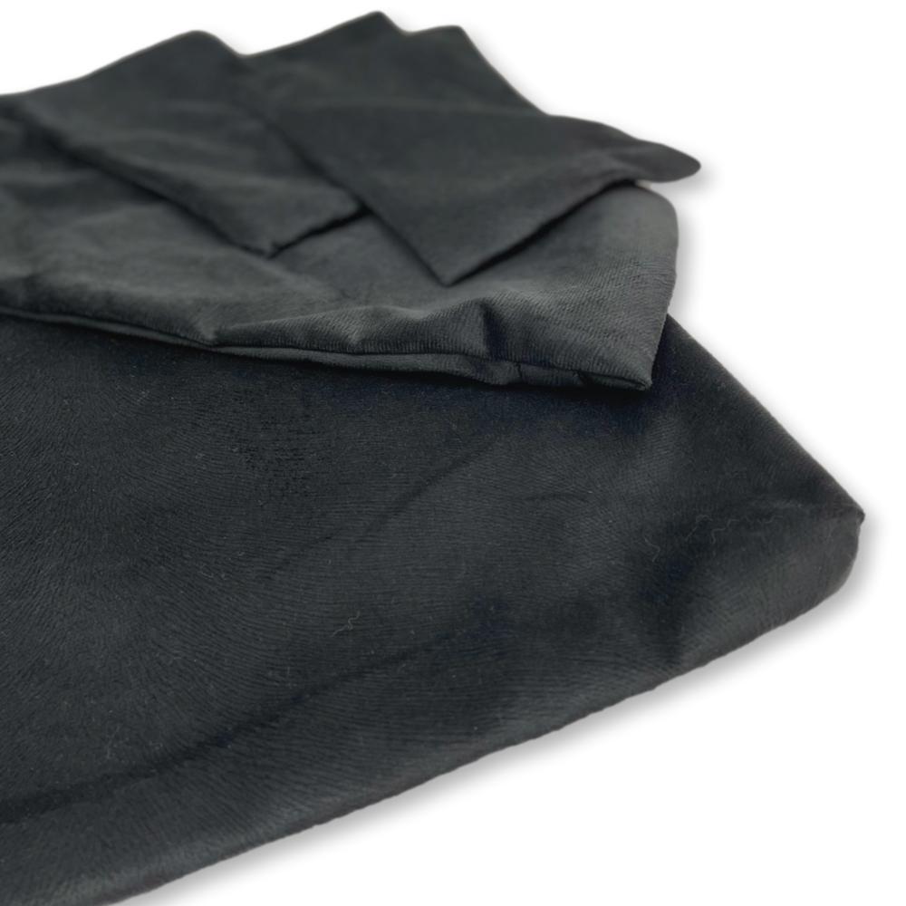 Kit de Capas para Almofadas dos Sofás Tomtom Preto