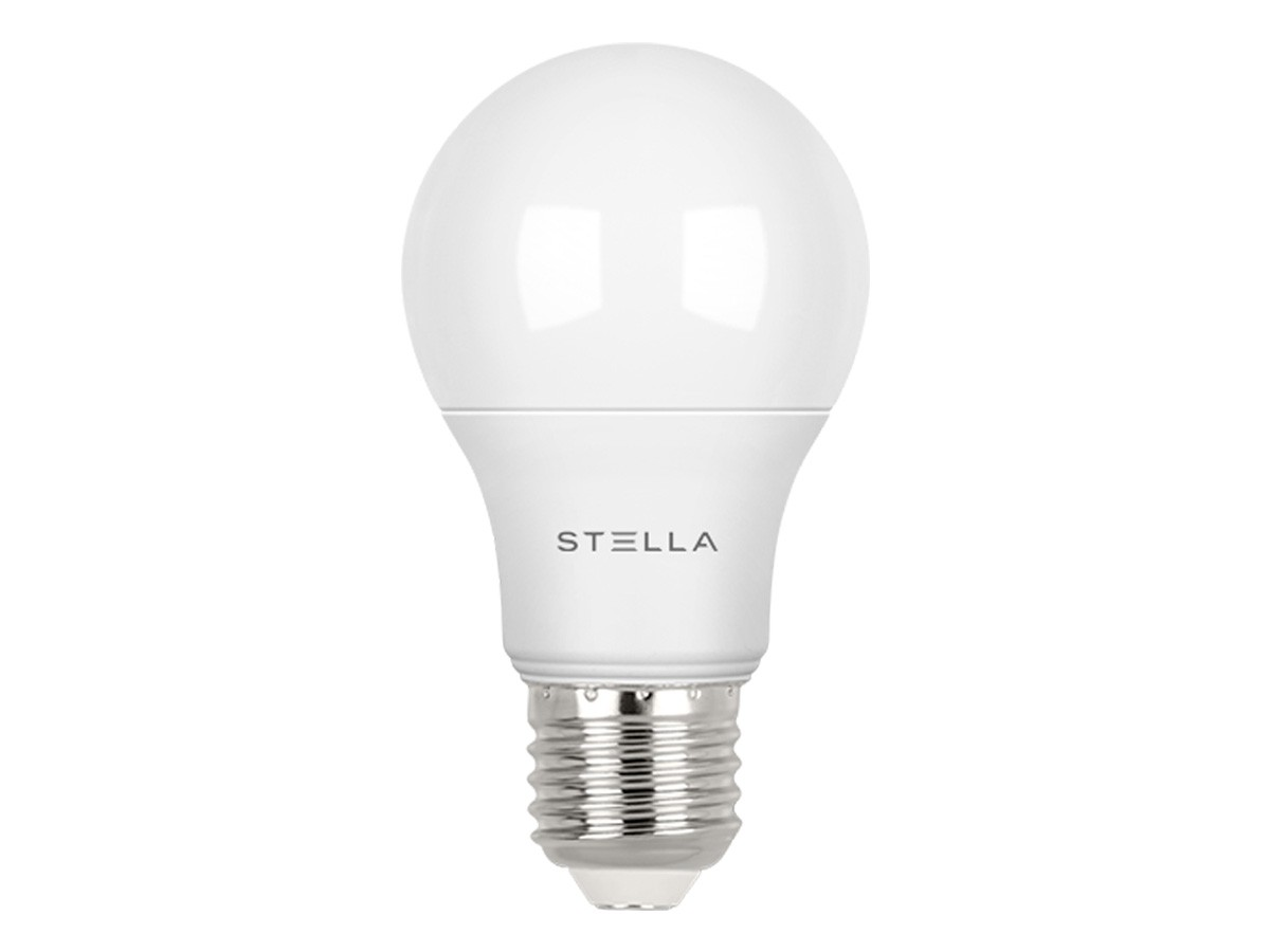 10x Lampada LED Bulbo Dimerizável 9,8W E27 Bivolt -Stella -STH7250/27