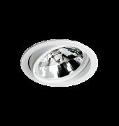 Spot Embutido Redondo em Alumínio com Foco Orientavel Branco