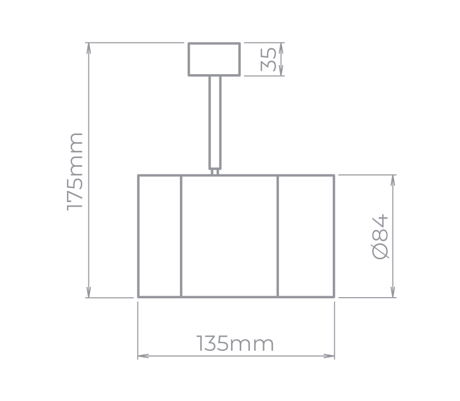 18x SPOT VOLL 14W 1300lm LED INTEGRADO 3000K -SD1810