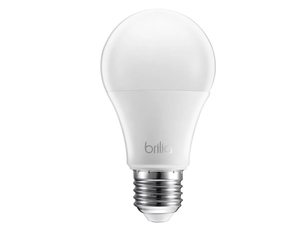 4x Brilia Bulbo Led 4,8w Bivolt 4000k E27 Branco Neutro - 439678