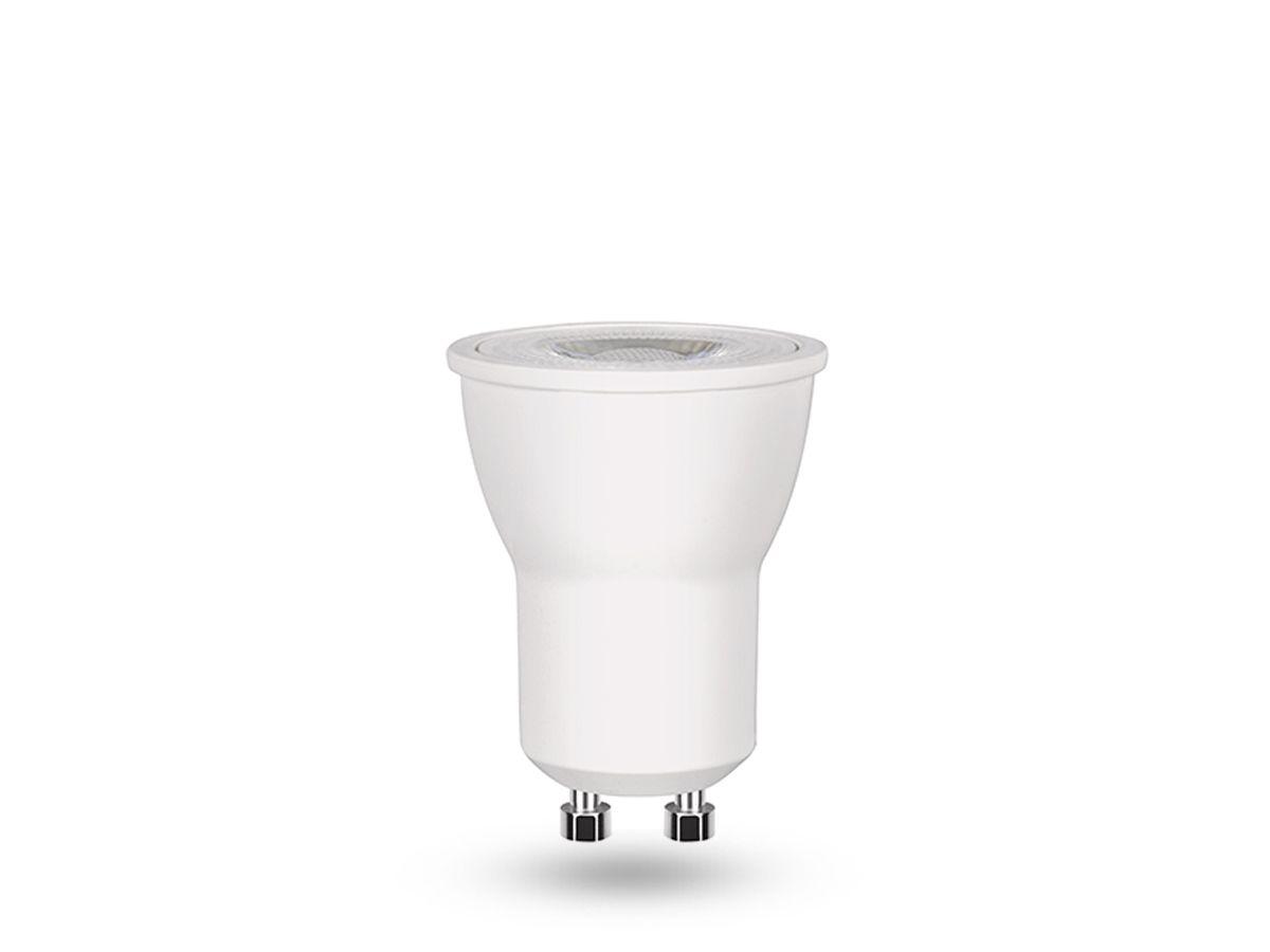 50x Lâmpada Led Mini Dicroica Branco Neutro 3w Gu10 4000k Stella