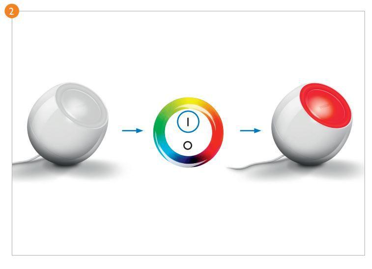 Abajour RGB Living Colors Branco – Lindo Efeito