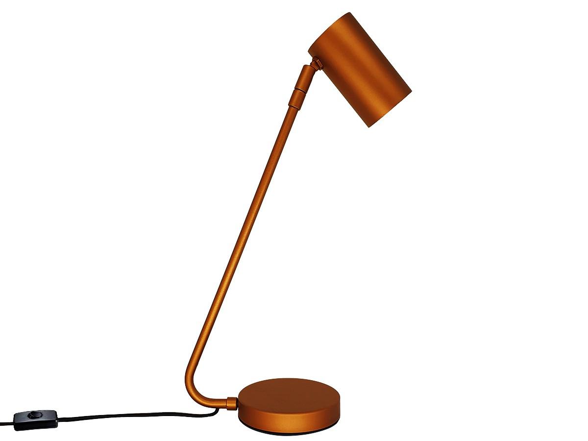 Abajur Luminária de Mesa Foco Direcionável Cobre GU10 Dicroica