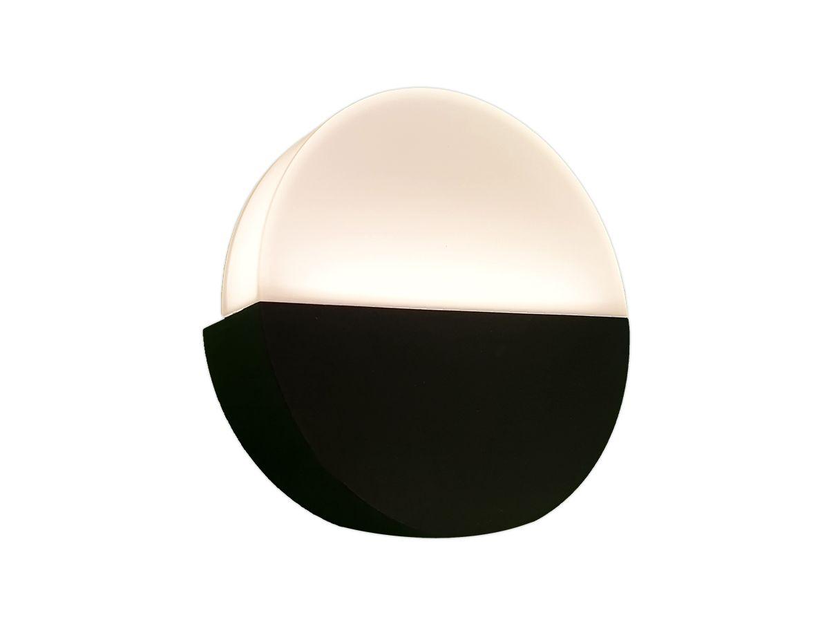 Arandela Decorativa Redonda em Alumínio G9  - Lâmpada Inclusa