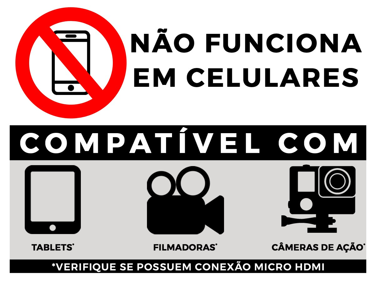 Cabo Micro HDMI X HDMI 2.0 4K HDR 19P 3M 018-9411