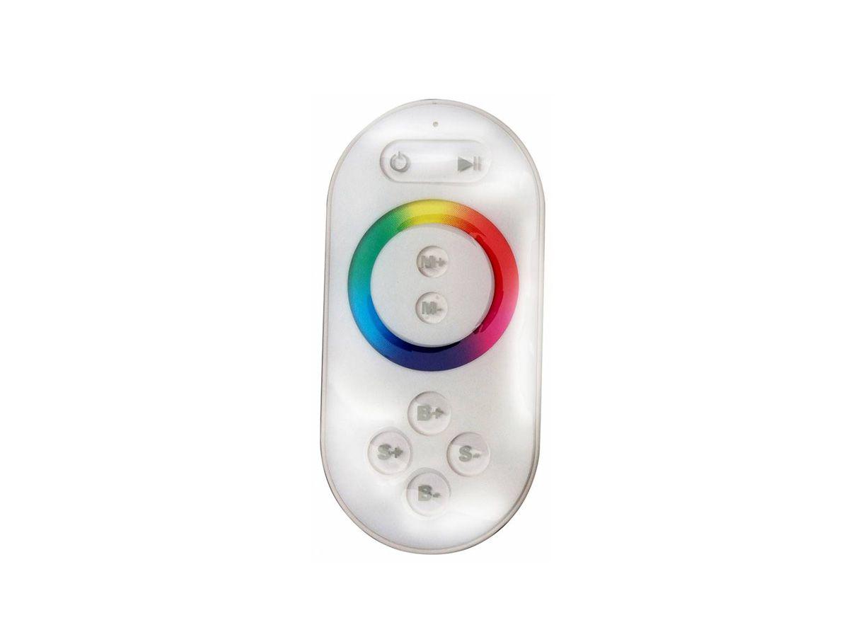 Controlador RF Rgb Fita Led Controle Sem Fio Touch 12/24v Lp101