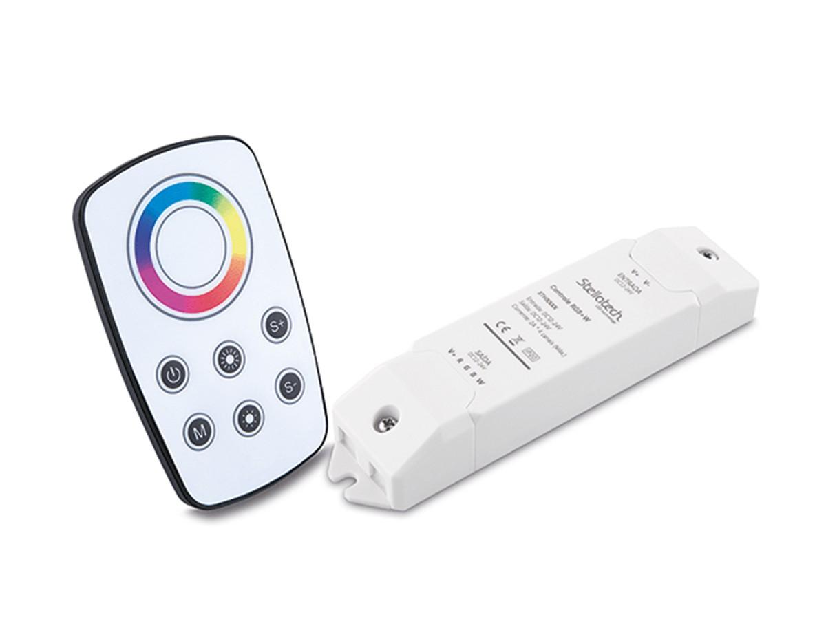 Controle Wireless com Receptor para Fita LED RGBW - Stella Sth6880
