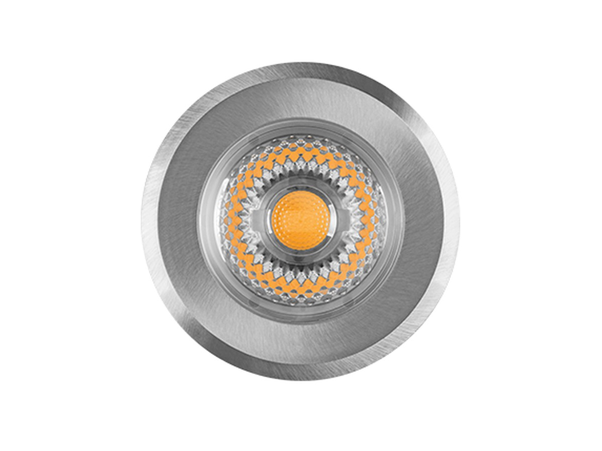 Embutido de Solo Focco INOX 10W 30° 3000K IP67 640lm Bivolt - Stella STH8707/30
