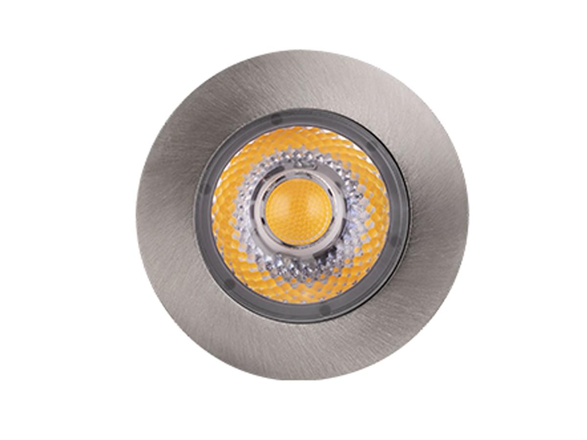 Embutido de Solo Focco INOX 5W 30° 3000K IP67 320lm Bivolt - Stella STH8706/30