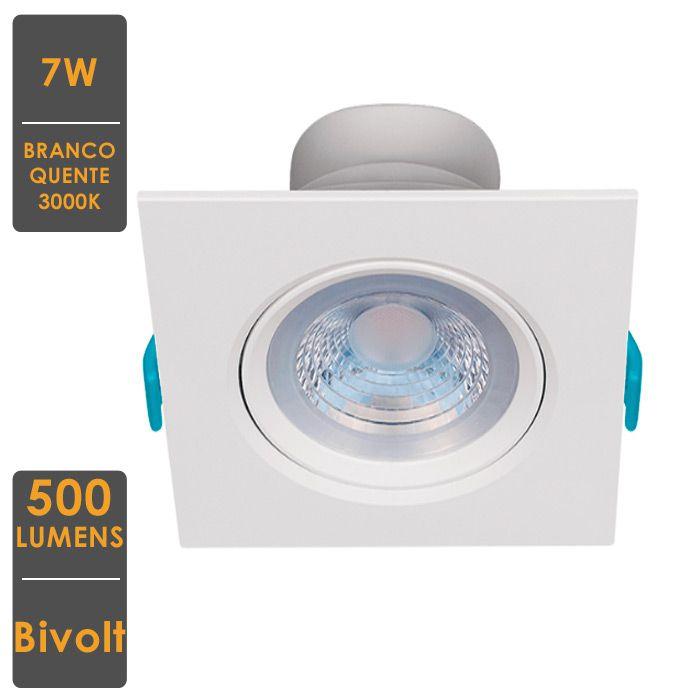 Embutido LED 7W PAR20 Direcionável 500lm-STH7920/30