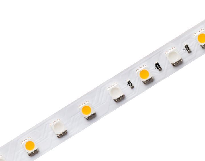 Fita LED Profissional 12W/M RGB+W IP20 24V 72 Leds-5m Stella - STH6830/RGBW