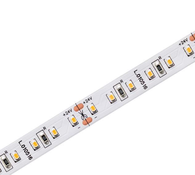 Fita LED Profissional 16W/M 2700K IP20 24V IRC90 1100lm-5 Metros