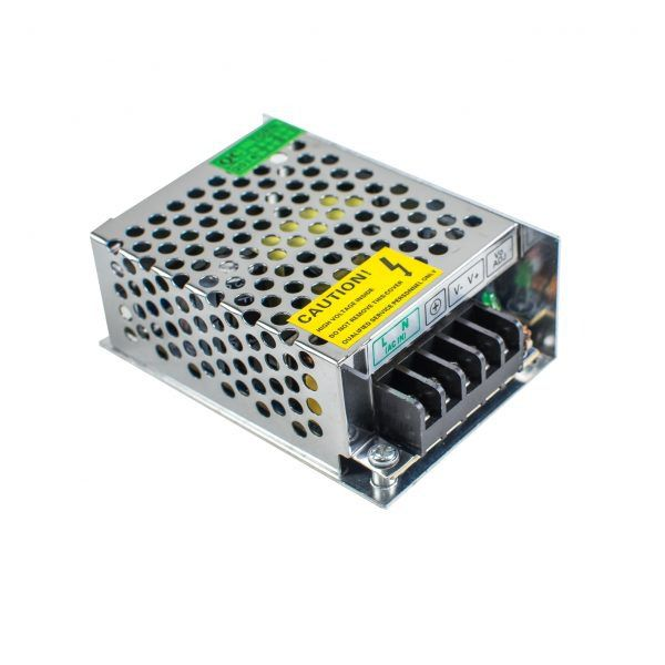 Fita Led Profissional 5W/M 2700K 12V + Fonte Eletronica 12V 3A Bivolt