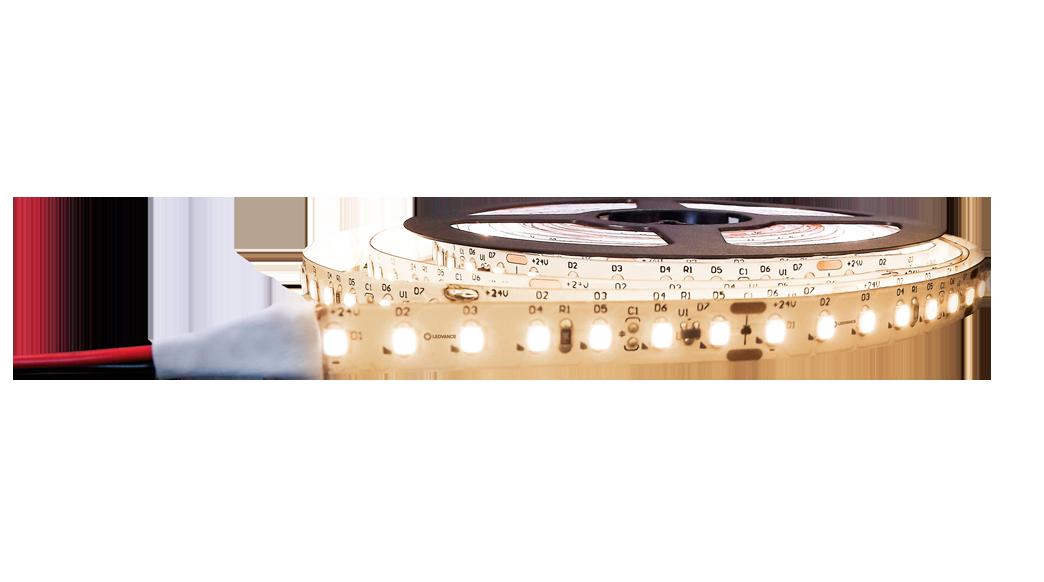 Fita LED Profissional 9,6W/M 2700K 1170lm IP20 24V Branco Quente - LEDVANCE